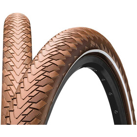 "Continental Contact Cruiser Wired-on Tire 28"" E-25 Reflex brown"